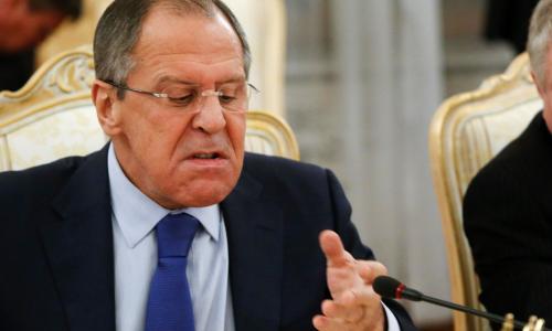 Лавров назвал тупой линию США в отношении России