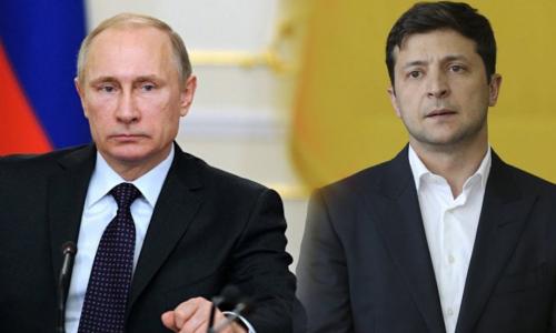 Зеленский попросил организовать переговоры с Путиным о Донбассе