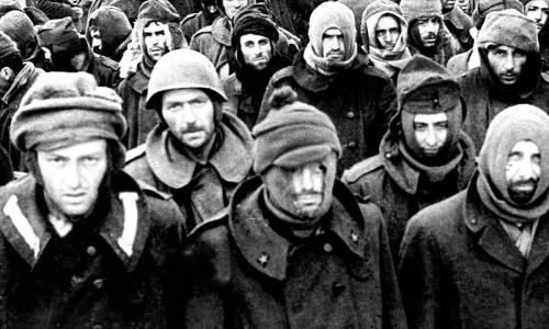 Что бойцы Красной Армии делали с пленными немками