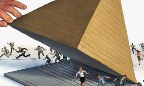 В России появилась новая финансовая пирамида