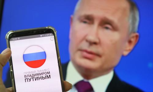 Назван самый популярный вопрос Путину
