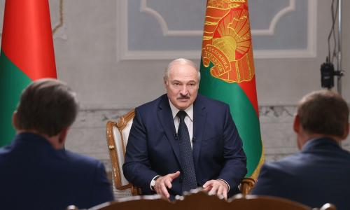 Запад, протесты и народ. Лукашенко дал интервью российским журналистам