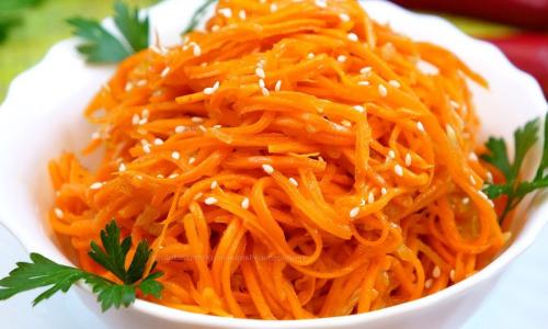 Корейская морковка в домашних условиях